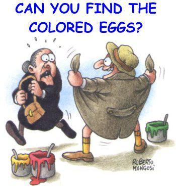 canyoufindthecoloredeggs